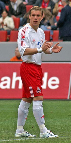 Lukas Podolski im Trikot des 1. FC Köln (2006) Bild: MKBN / de.wikipedia.org