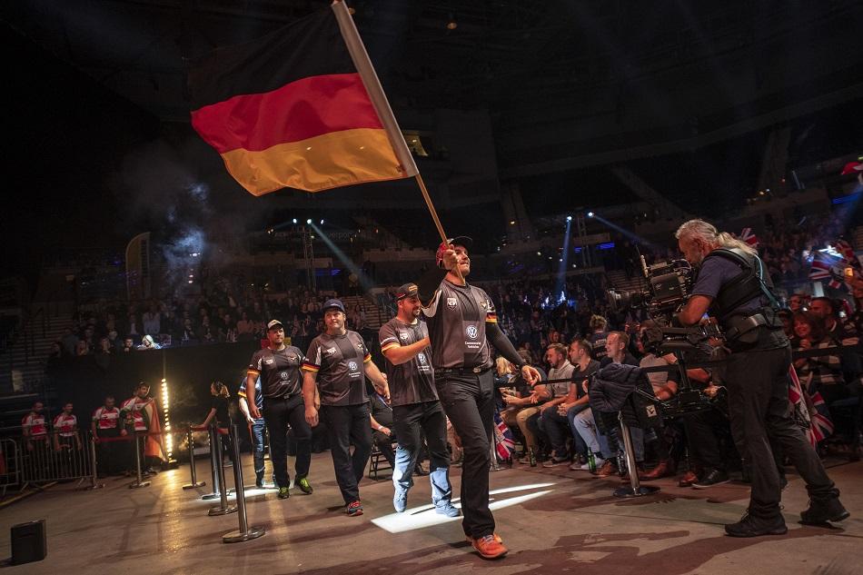 Team Deutschland bei der STIHL TIMBERSPORTS Weltmeisterschaft 2018.