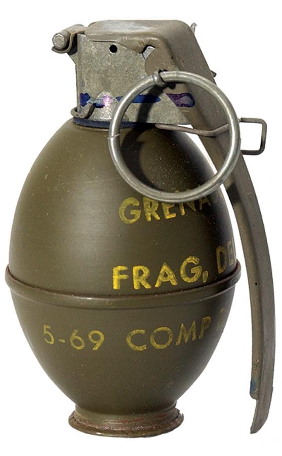 Handgranate (Symbolbild)
