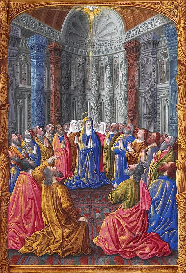 Stundenbuch des Herzogs von Berry Les Très Riches Heures (15.Jh.), Symbolbild