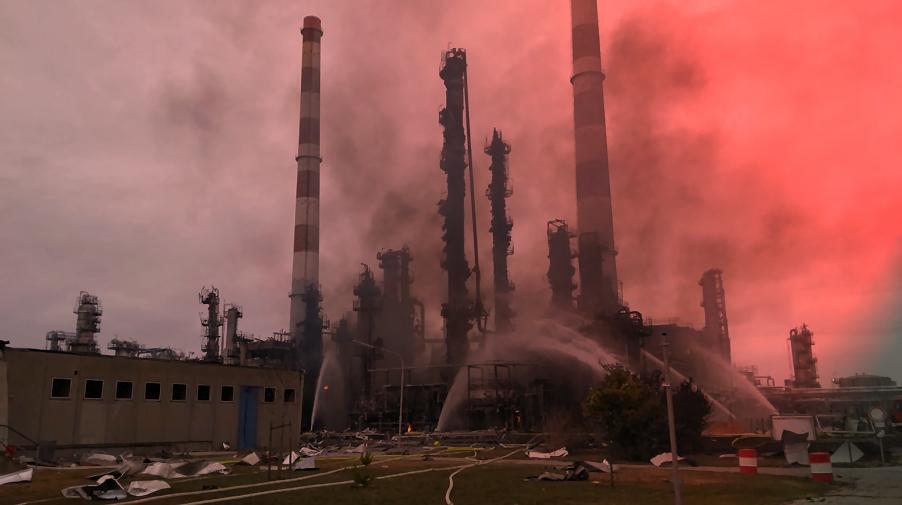 Explosion in Raffinerie: Acht Verletzte bei Ingolstadt