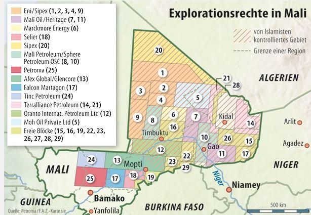 Alleine die Existenz dieser Landkarte zeigt, worum es wirklich geht:. Bild: politaia.org