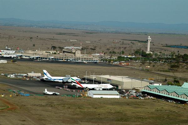 Jomo Kenyatta International Airport (NBO/HKJK) in Nairobi, Kenya