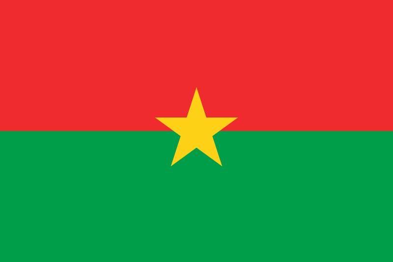 Flagge von Burkina
