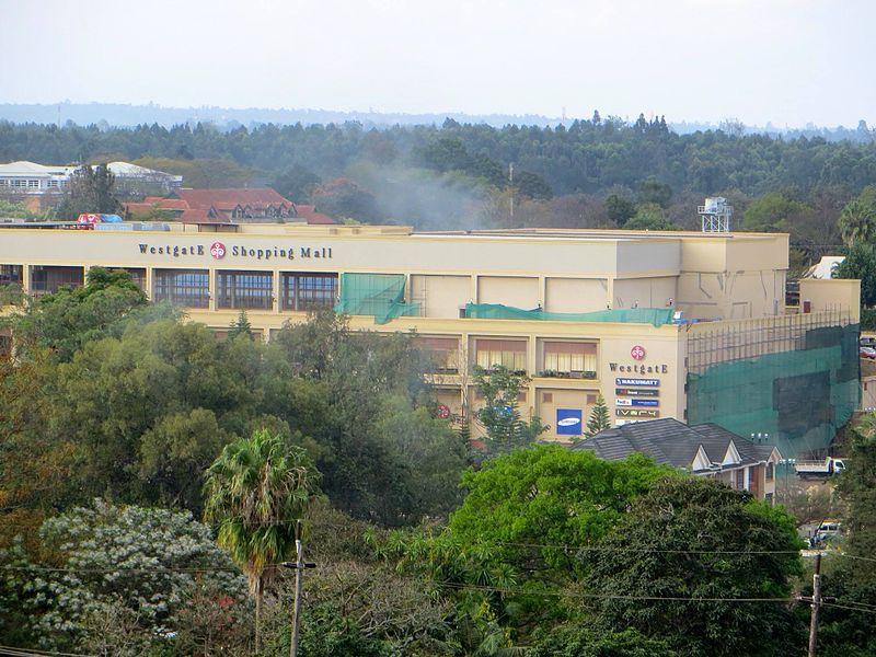 Westgate shopping mall incident in Nairobi, Kenya. Bild: Anne Knight - wikipedia.org