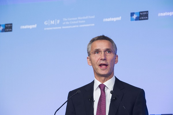 Jens Stoltenberg Bild: NATO