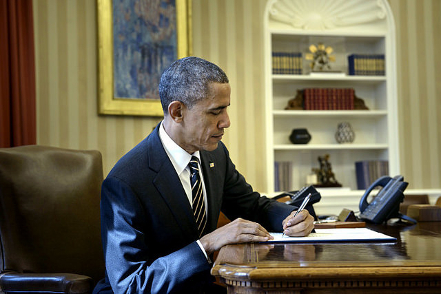 Barack Obama Bild: Peter Stevens, on Flickr CC BY-SA 2.0