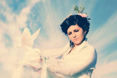 Schönheit und Frieden gehen Hand in Hand (Symbolbild)