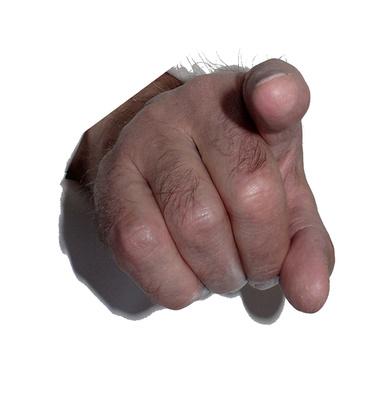 Denunzieren / Zeigefinger