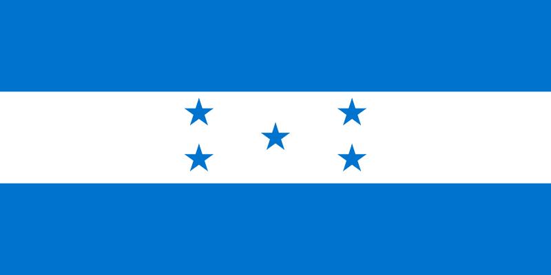 Die Flagge von Honduras.