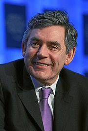 Gordon Brown Bild: World Economic Forum