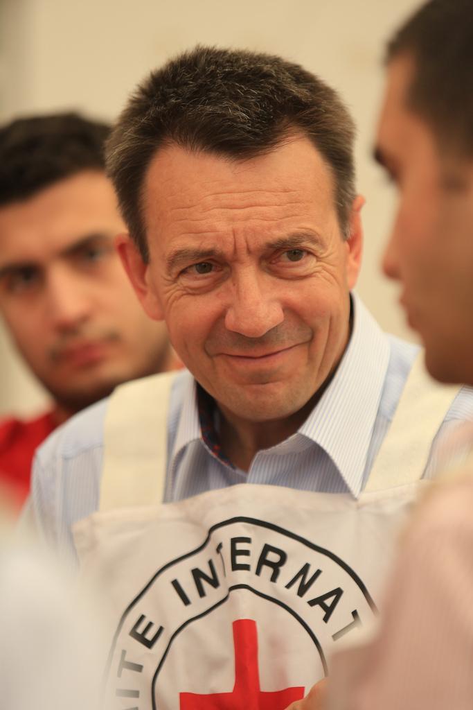 Peter Maurer, 2012