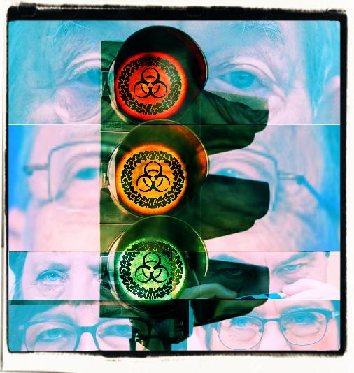 """Die """"Coronaampel"""": Sie öffnet die Tür und Tor für Mißbrauch und weitere Einschränkungen des täglichen Lebens (Symbolbild)"""