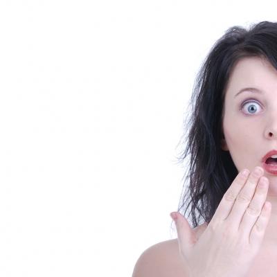 Empört, entsetzt, staunen und überrascht (Symbolbild)
