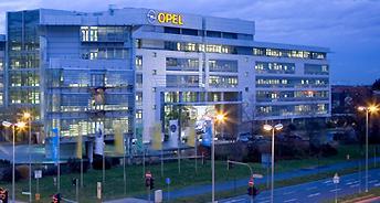 Opel Zentrale in Rüsselsheim Bild: de.wikipedia
