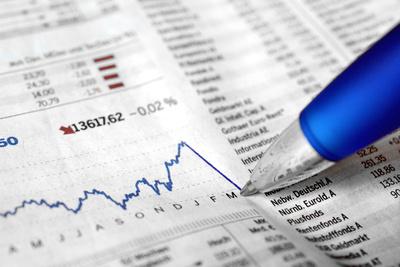 Verlust, Crash, Einbruch, Börse, Konjunktur und Insolvenz (Symbolbild)