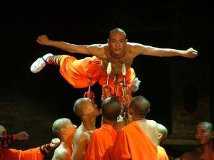 Showeinlage: Shaolin-Kung-Fu in Aktion.