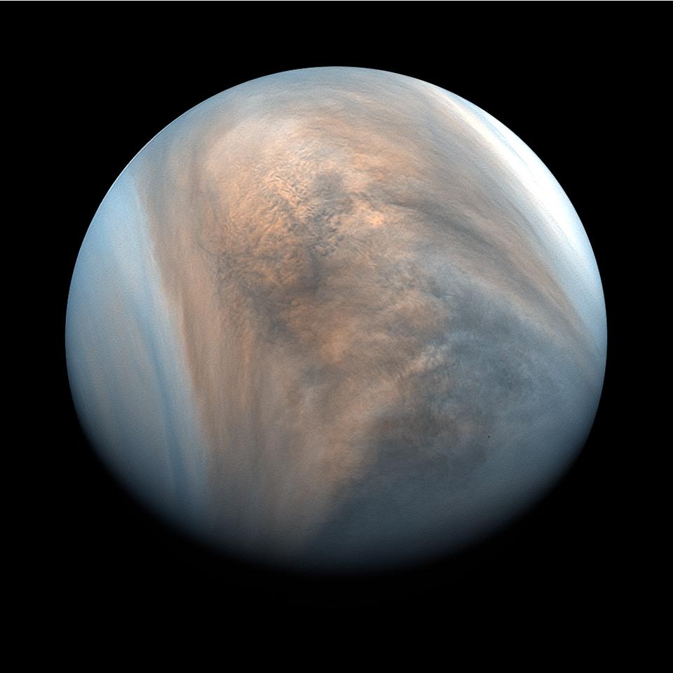 """Machbarkeitsstudie zu autonom fliegenden Sonden in der Atmosphäre des Nachbarplaneten /  Bild: """"obs/OHB SE/JAXA"""""""