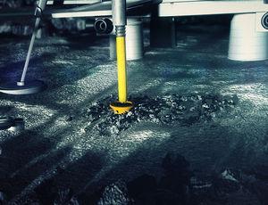 Bohrloch: In dieses werden die Daten gegeben. Bild: lunarmissionone.com