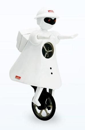 Einrad-Robotermädchen MURATA GIRL. Bild: Murata Electronics (UK) Ltd
