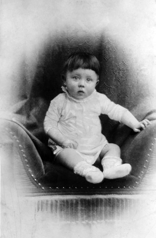 Adolf Hitler als Baby (Archivbild)