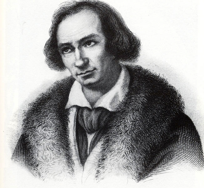 Georg Friedrich Daumer (* 5. März 1800 in Nürnberg; † 13. Dezember 1875 in Würzburg)