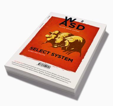 WASD Magazin: Cover der zweiten Ausgabe