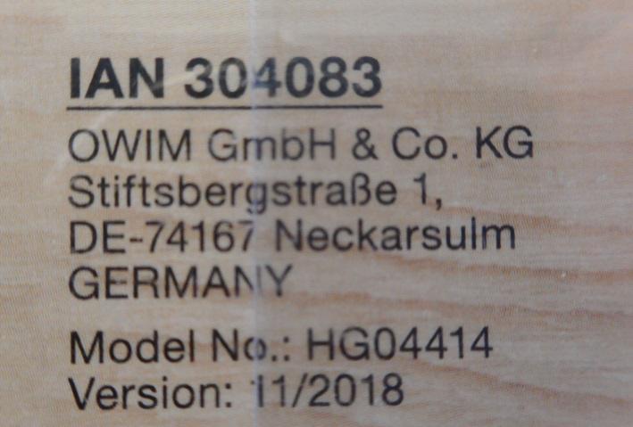 """Lidl Deutschland warnt vor der weiteren Verwendung des Artikels """"Holzgreifling"""" der Marke """"Playtive junior"""" . Bild: """"obs/LIDL"""""""